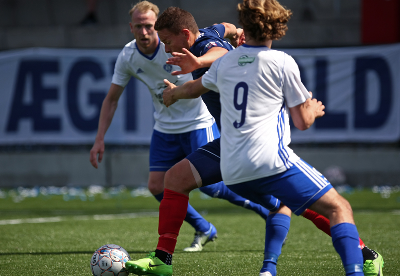 Kampprogram til B.93 vs. Middelfart